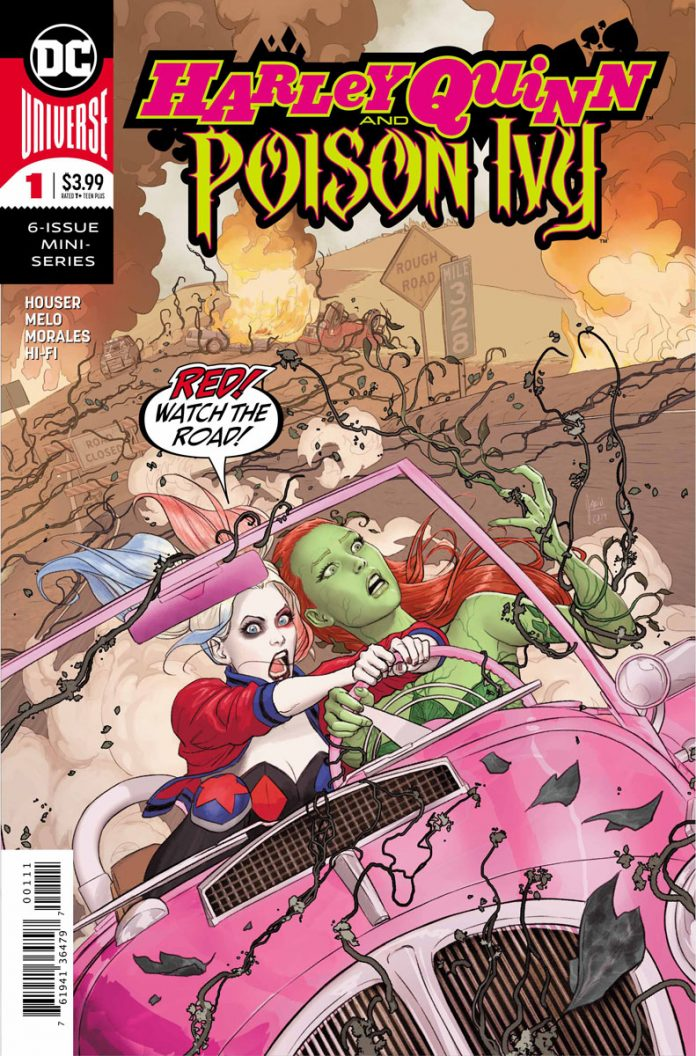 Image result for harley quinn and poison ivy #1 Cover