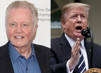 "Jon Voight calls Donald Trump impeachment efforts ""a war against the highest noble man"""