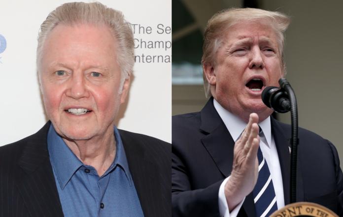 Jon Voight calls Donald Trump impeachment efforts
