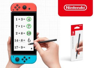 Switch Brain Training game and Stylus