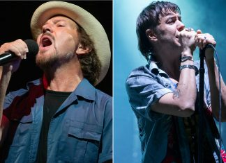 Watch Eddie Vedder join The Strokes to perform 'Juicebox' and Pearl Jam's 'Hard To Imagine'