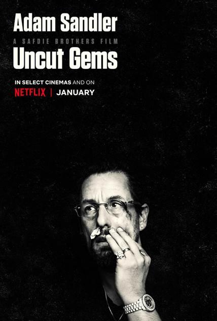 Adam Sandler and The Weeknd's 'Uncut Gems' gets Netflix release date