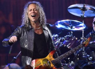 """Kirk Hammett has """"a lot of kick ass material"""" for Metallica's next album"""