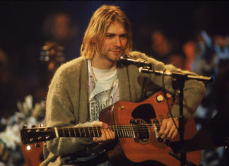 Kurt Cobain's 'MTV Unplugged' cardigan is going up for auction — again