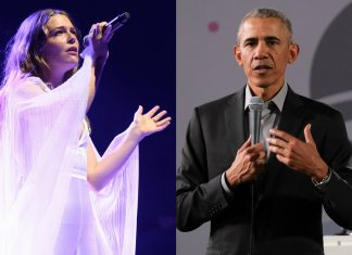 """Maggie Rogers shares letter she received from """"huge fans"""" Barack and Michelle Obama"""