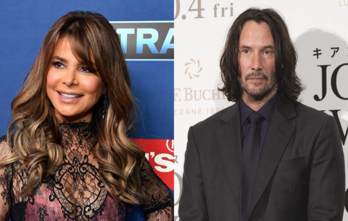 Paula Abdul once found Keanu Reeves