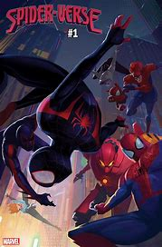 Image result for spider-verse #1 comic 2019