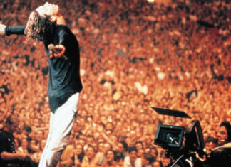 Take an exclusive first-look at INXS performing 'New Sensation' in restored 'Live Baby Live' concert film and album