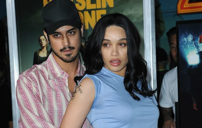 'Zombieland 2''s Avan Jogia and girlfriend Cleopatra Coleman channel Angelina Jolie and Billy Bob Thornton at film's premiere