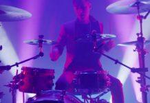 "Watch Luke Holland drum with sword-wielding dancers in his ""Katana"" clip"