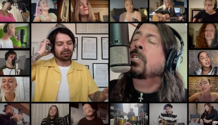 Watch Foo Fighters, YUNGBLUD, 5SOS and more collaborate from home