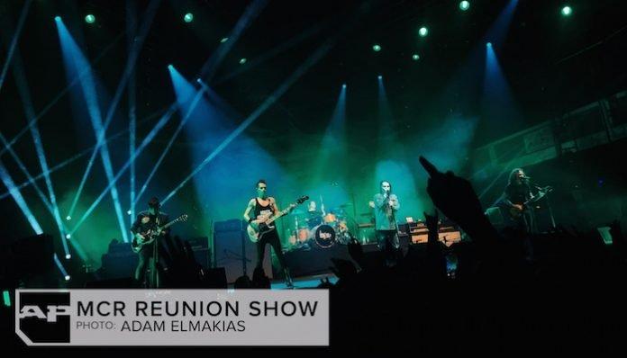 mcr 5 my chemical romance reunion show