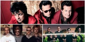 green day fall out boy weezer hella mega tour, american music awards hella mega tour